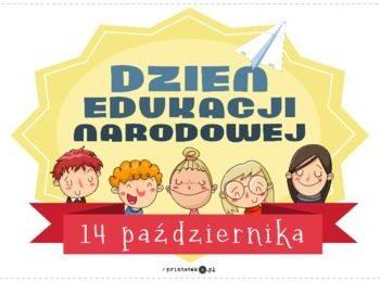Z okazji Dnia Edukacji Narodowej…