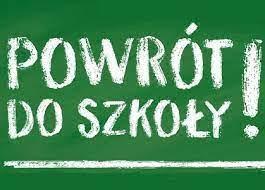 POWRÓT do SZKOŁY :)