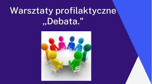 """Warsztaty profilaktyczne """"Debata"""" w 6a"""